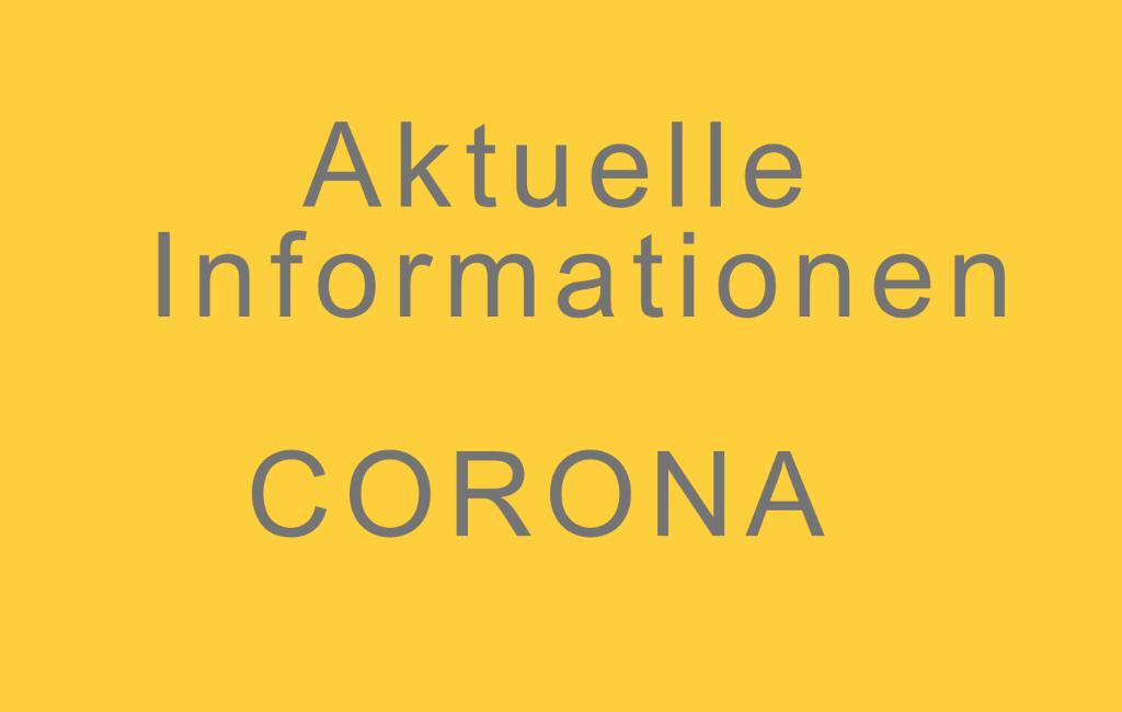 Informationen zum Schulbetrieb ab dem 12.04.2021
