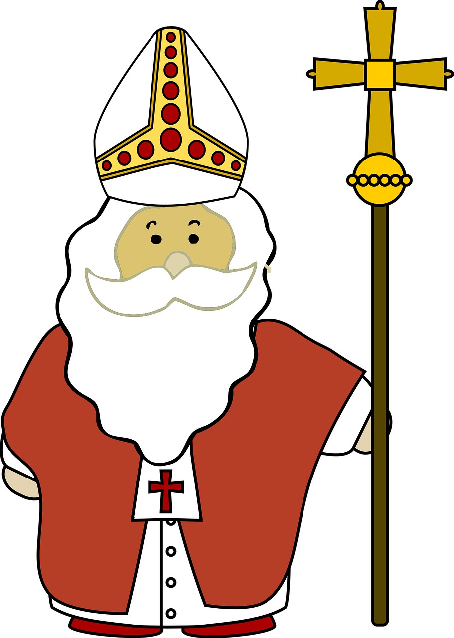Sankt Nikolaus zu Besuch