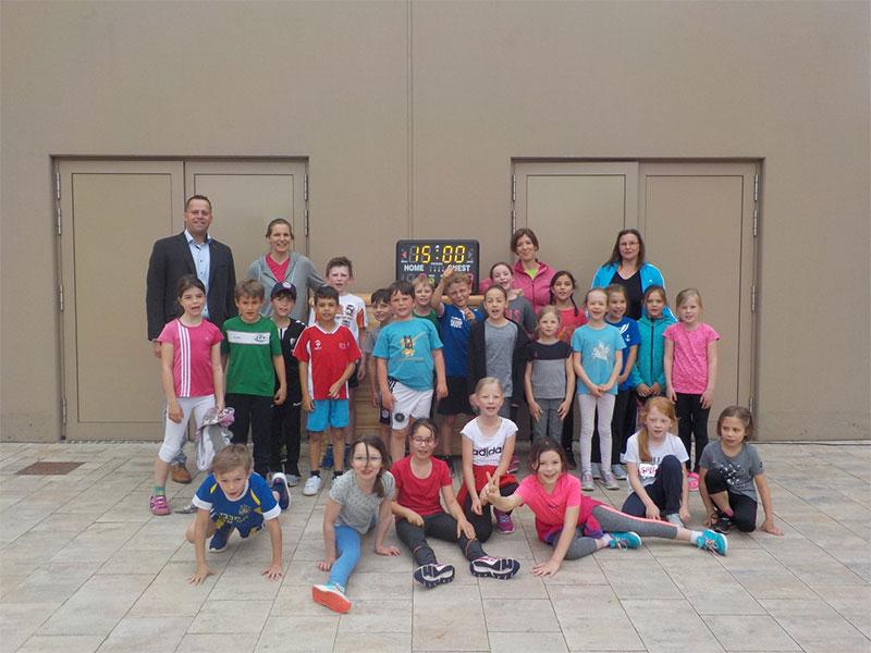 Gesundheits- und Bewegungstag an der Grundschule am Napoleonstein